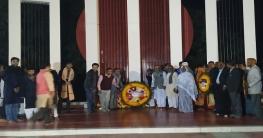 চাঁপাইনবাবগঞ্জে আন্তর্জাতিক মাতৃভাষা দিবসে শহীদ শ্রদ্ধা নিবেদন