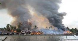 MYANMAR ARMY AGAIN TORCHED ROHINGYA HOME