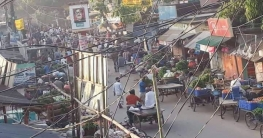 ভোলাহাটের কাঁচা বাজার খোলা স্থানে সরিয়ে নেয়ার দাবী