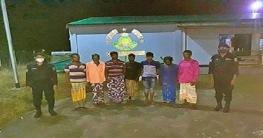 চাঁপাইনবাবগঞ্জে র্যাবের অভিযানে ৭ মাদকসেবী গ্রেপ্তার