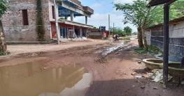 কানসাটের রাস্তাটি সংস্কারের জোর দাবি এলাকাবাসীর