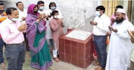 শিবগঞ্জে দুটি স্কুল ও একটি রাস্তা নির্মাণ কাজের উদ্বোধন