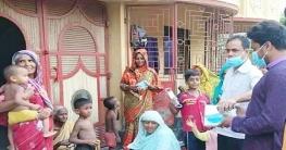 শিবগঞ্জে করোনা সচেতনতা বাড়াতে মাঠে আ.লীগ নেতা
