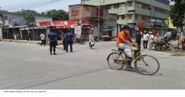 কঠোর লকডাউনের শেষ দিনে চাঁপাই জেলায় হঠাৎ সংক্রমণ নিম্নমুখী