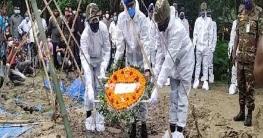 গোমস্তাপুরে সেনাসদস্যকে সামরিক মর্যদায় প্রদান