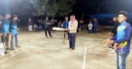 শিবগঞ্জে বঙ্গবন্ধু নাইট মিনি ক্রিকেট টুর্নামেন্ট