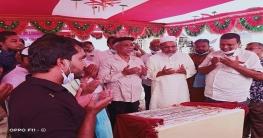 চাঁপাইনবাবগঞ্জে তহা বাজার মার্কেট নির্মাণ কাজের উদ্বোধন