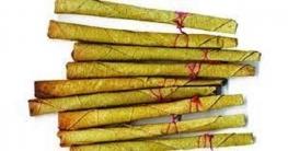 বাঙ্গাবাড়ী সীমান্তে ভারতীয় বিড়ি ও সুতা আটক