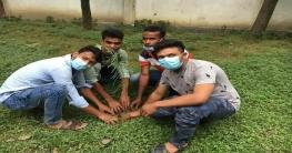 চাঁপাইনবাবগঞ্জে বঙ্গবন্ধু স্মৃতি সংসদের উদ্যোগে বৃক্ষরোপন